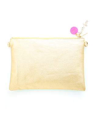 FLIP SIDE CLUTCH MERMAID/GOLD - The Willowlands