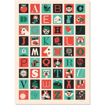 A TO Z PRINT - The Willowlands