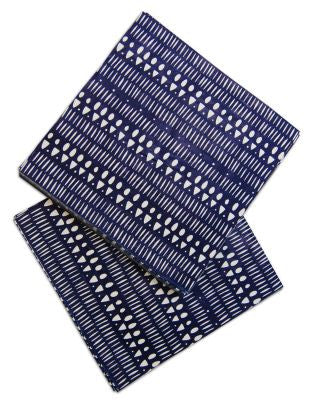 INDIGO TRIBAL PAPER NAPKINS - The Willowlands