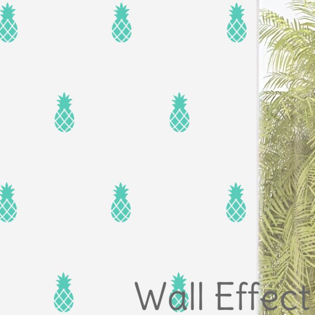 PINEAPPLE WALL DECALS - The Willowlands