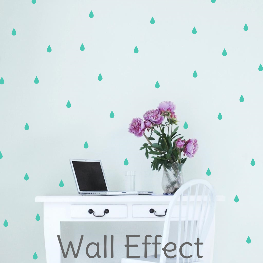 RAINDROP WALL DECALS - The Willowlands