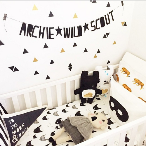 TRIANGLE WALL DECALS - The Willowlands