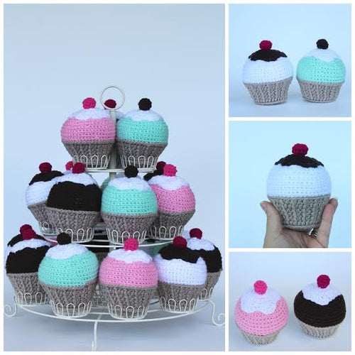 CROCHET CUPCAKE - The Willowlands
