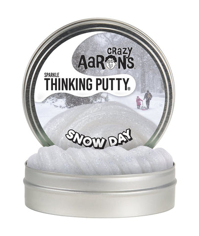 Snow Day | Sparkle Thinking Putty