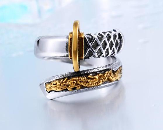 Japanese Samurai Sword Ring