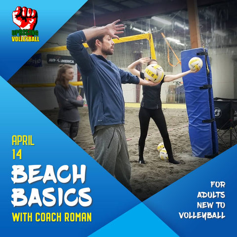 Beach Basics with Coach Roma