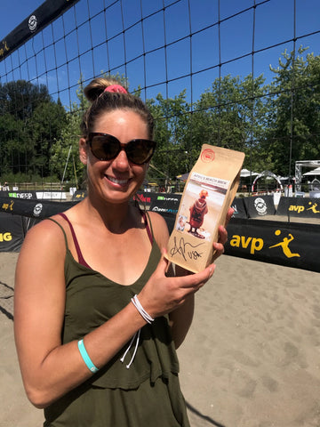 April's Beach Brew, Signature Coffee of Two-Time Olympian April Ross