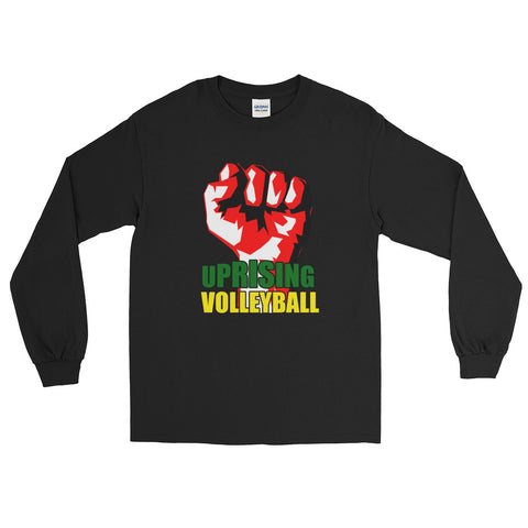 Uprising Classic Vertical Fist Long Sleeve T-Shirt
