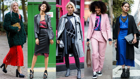 London and NYC Fashion Week Street Style to Watch