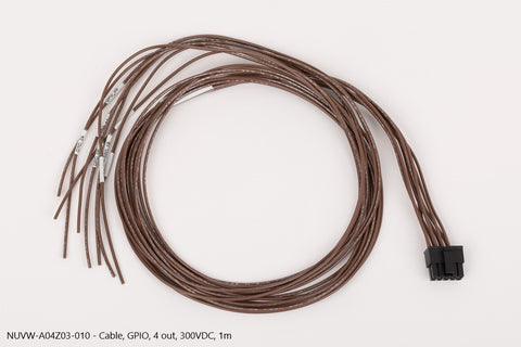 Nuvation Wire, GPIO, 4 out, 300VDC, 1m