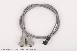 Cable, CAN-485, DB9, 300VDC, 1m