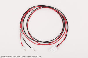 Nuvation Wire, External Power, 300VDC, 1m
