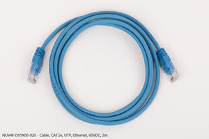 Cable CAT.5e, UTP, Ethernet, 60VDC, 2m