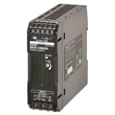Part, Power Supply, 24VDC, 2.5A, DIN Mount