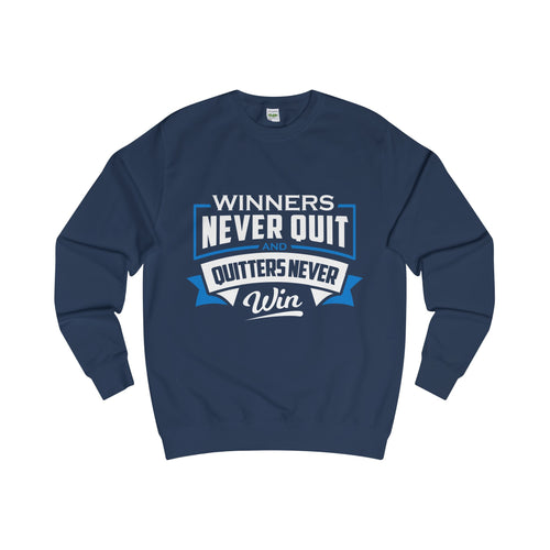 LEADRS Sweatshirt<br>Winners never quit and quitters never win - Leadrs Wear