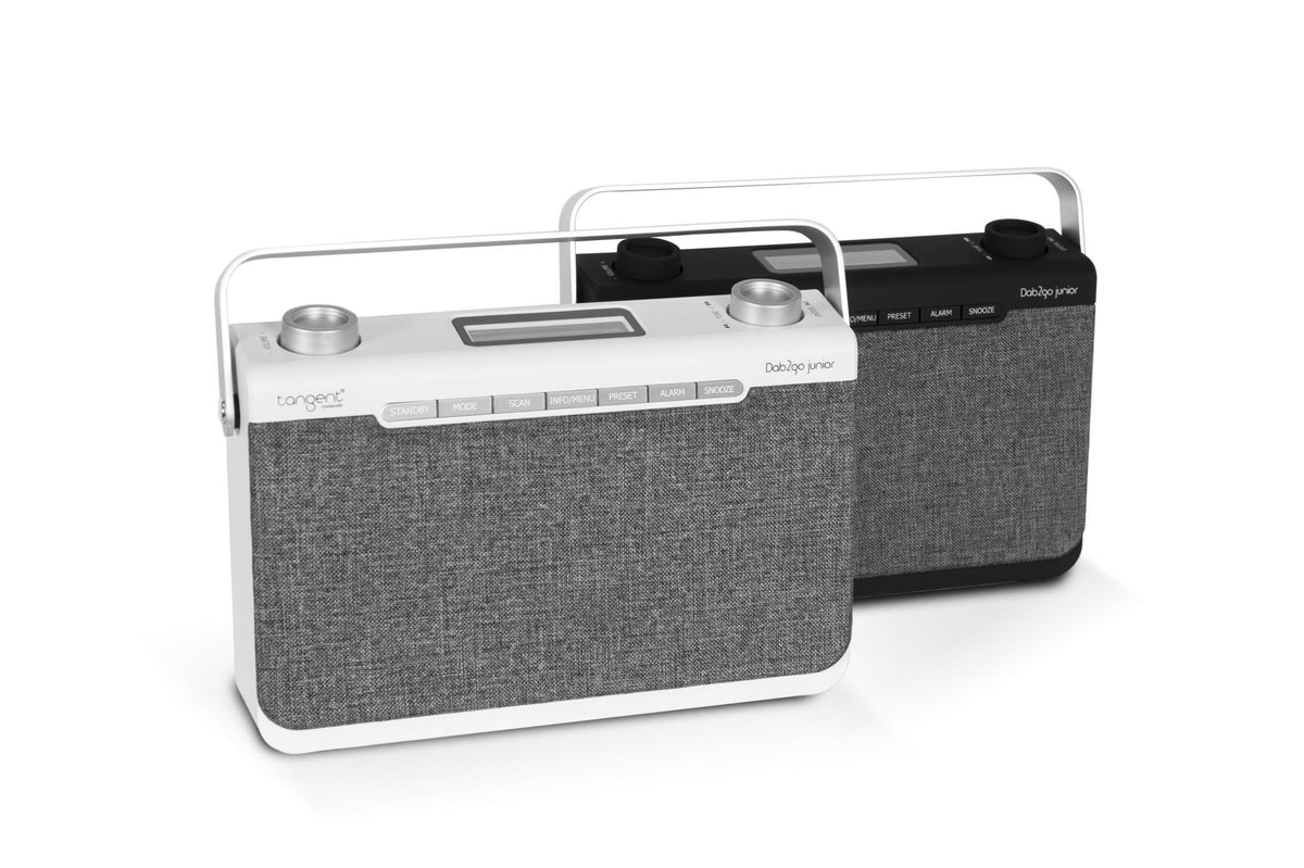 radio dab2go junior bluetooth enceinte portable tangent blanc ou noir