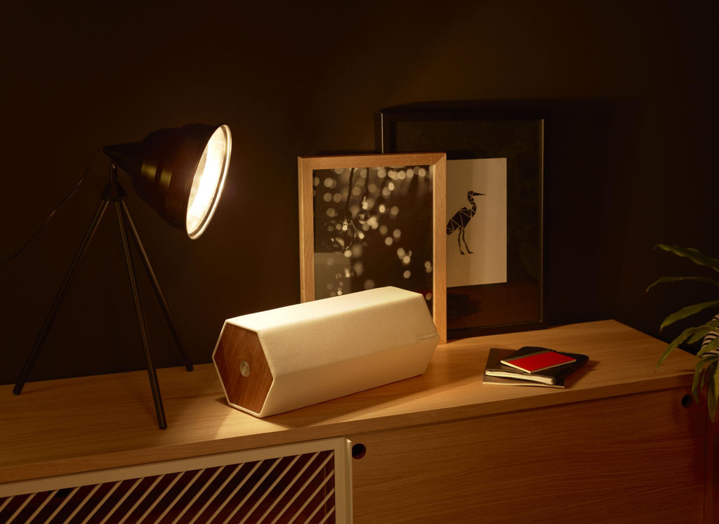 timber enceinte sans fil bluetooth elipson habitat bois design