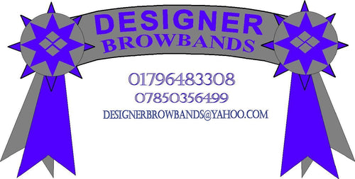 Designer Browbands