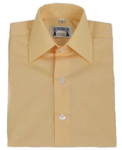 Childrens Corn Oxford Cotton showing shirt