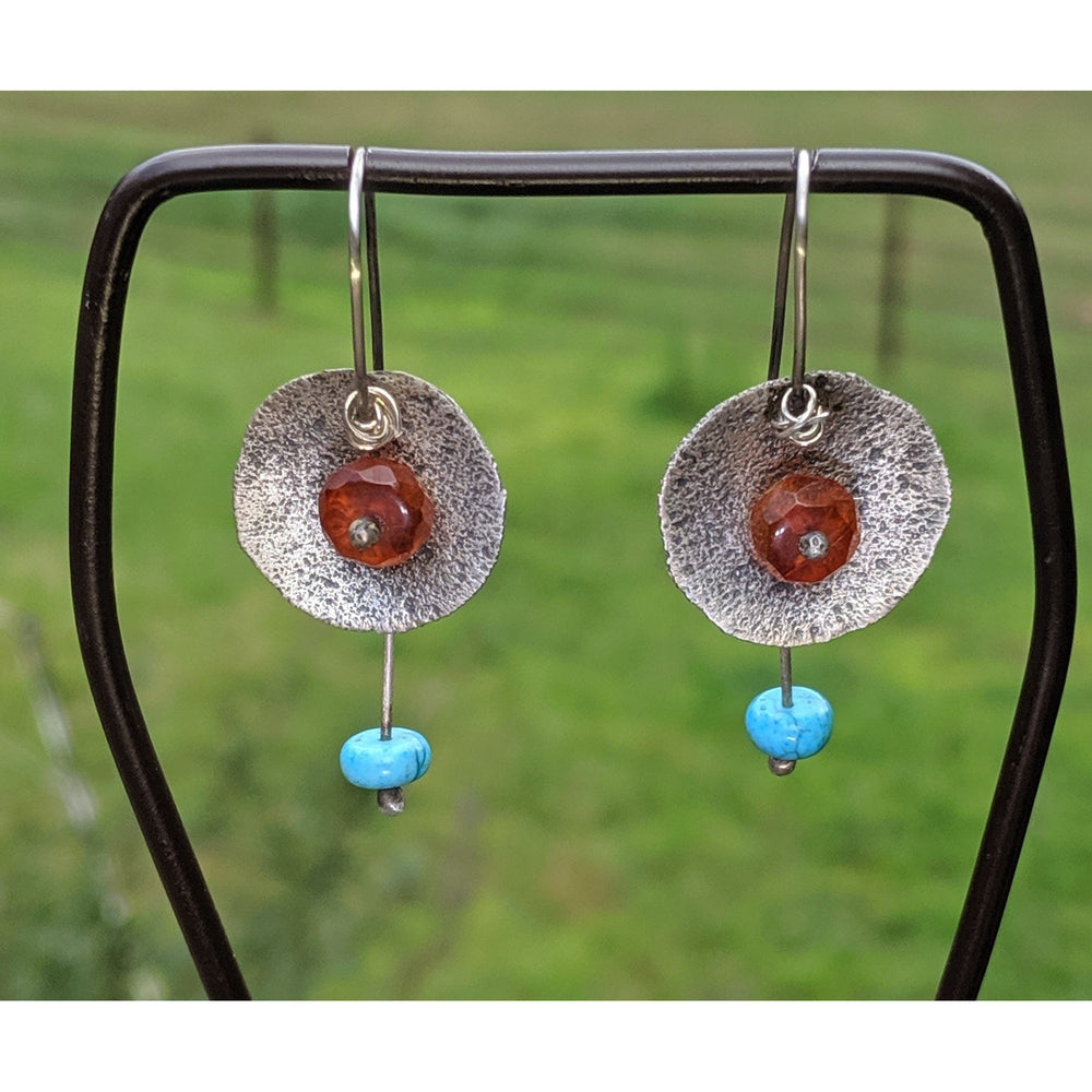 Warrior Goddess Earrings-Sunset