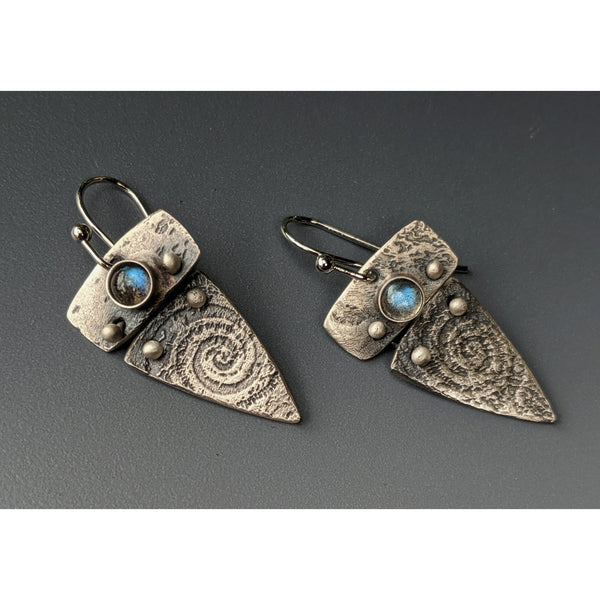 NEW WORK JULY 2020-Nautilus earrings