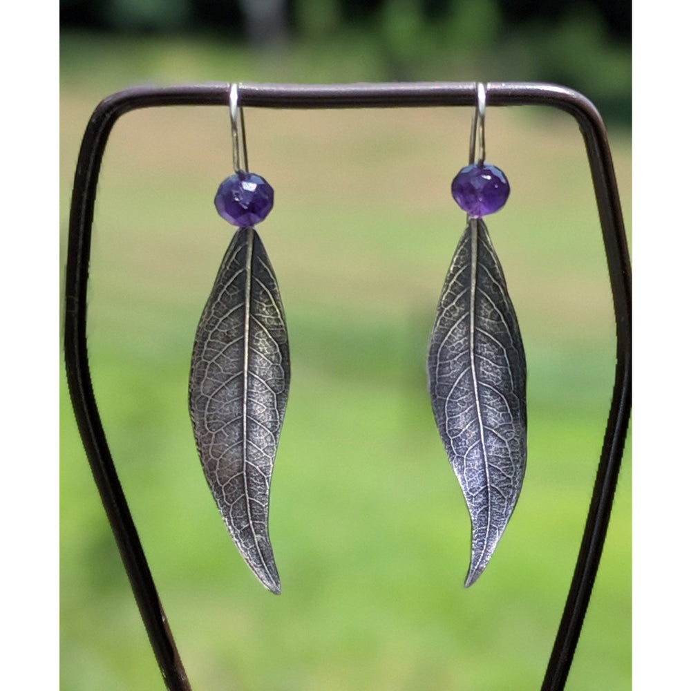 SOLD-A Leaf On The Wind-Nala Earrings