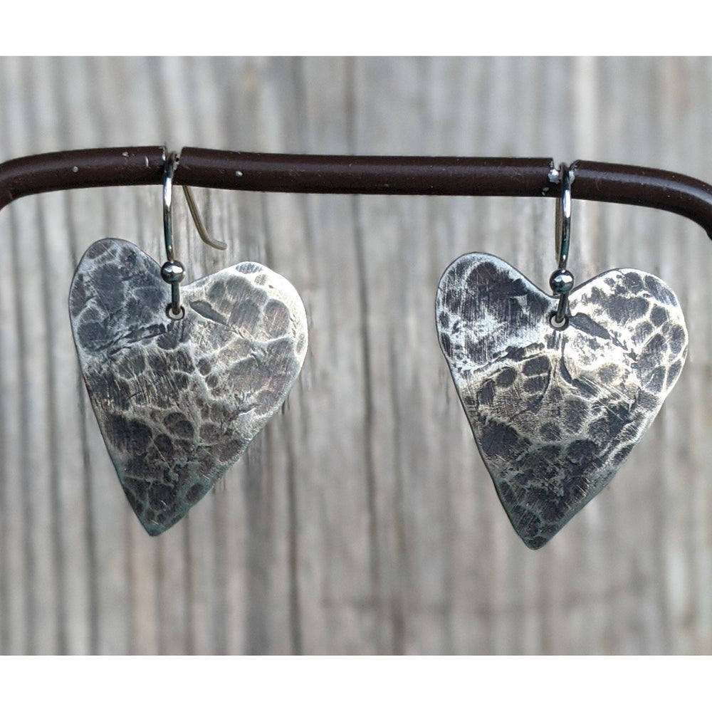 My Hammered Heart ❤️ made to order