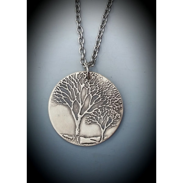 Tree Medallion-Two Dogwoods
