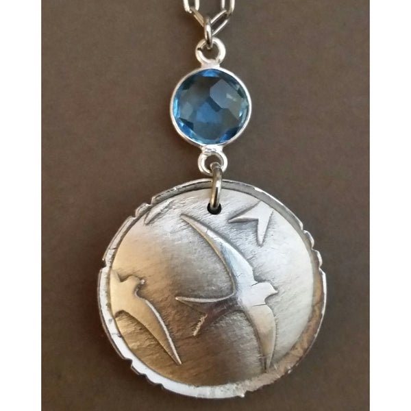 FLY FREE---LARGE LOCKET