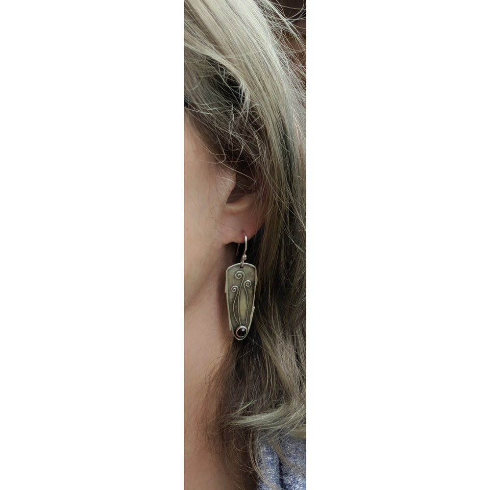 Earrings-Fiddlehead