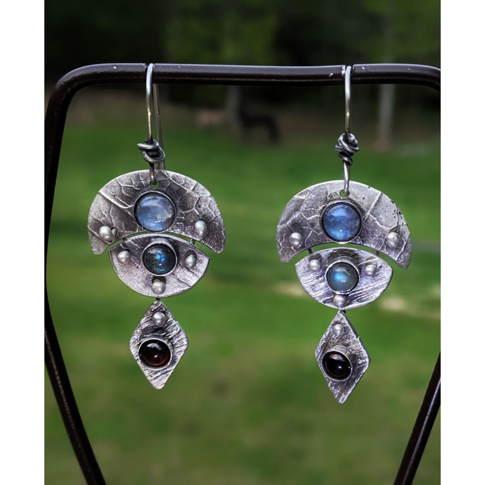 Warrior Goddess IV-Earrings-One of a Kind