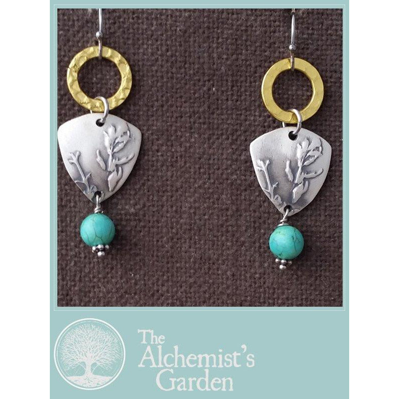 The Keepsake-shown with turquoise