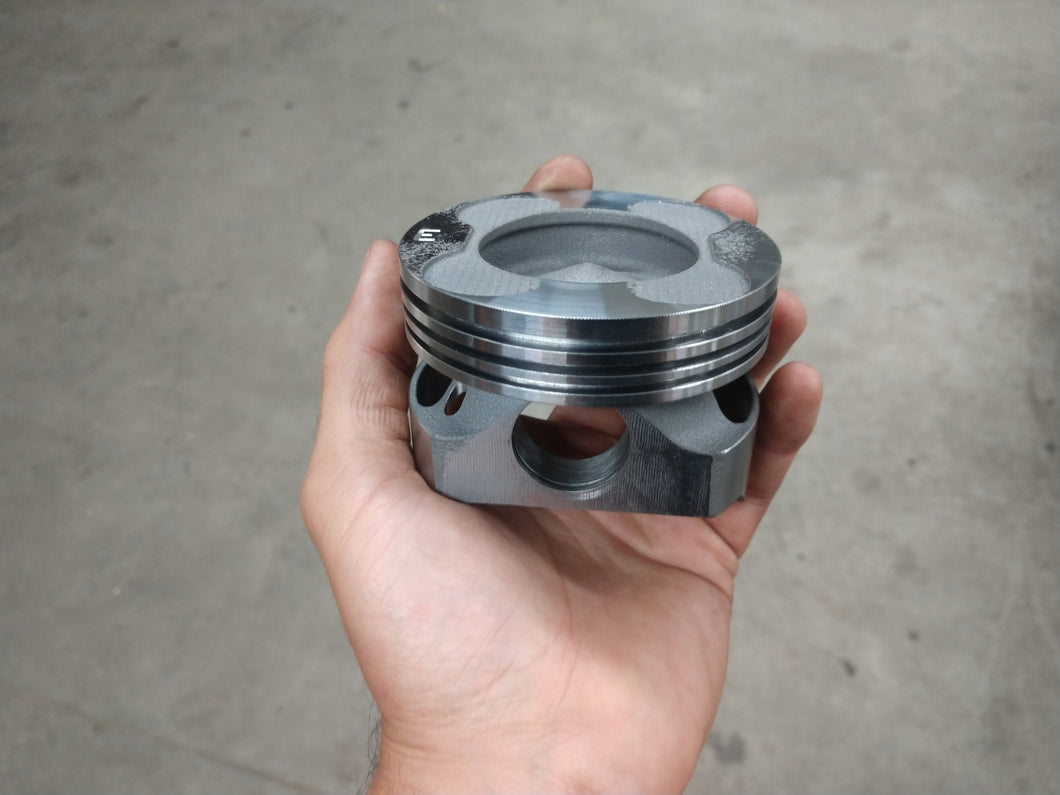 M57 Steel Piston and Connecting Rod Package