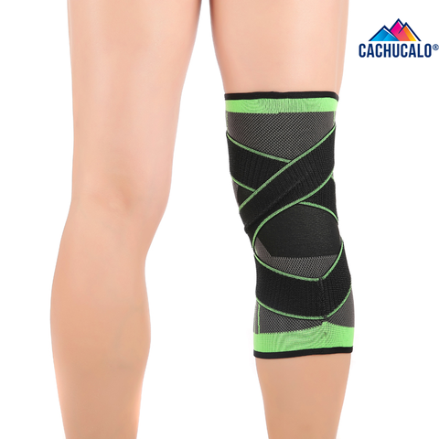 Cachucalo™ 3D COMPRESSION KNEE SLEEVE WITH SUPPORT STRAPS