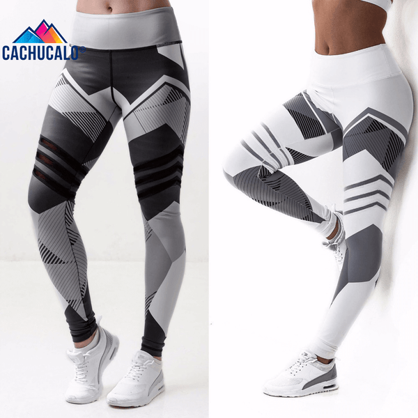 Cachucalo Geometric High Waist Legging