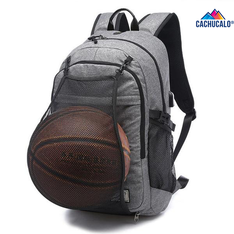 Cachucalo™ GOAT Basketball BackPack With Portable Charging Port