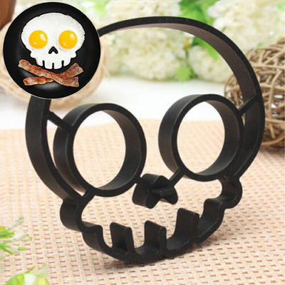 Cute Skull Shaped Fried Egg Mold