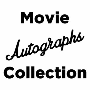 MOVIE AUTOGRAPHS COLLECTION