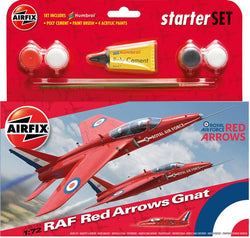 Airfix 1/72 Starter Set - Red Arrow Gnat