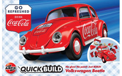 Airfix QUICKBUILD Coca-Cola VW Beetle (J6048)