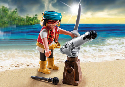 PLAYMOBIL Special PLUS Pirate with Cannon - 5378