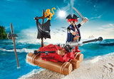 PLAYMOBIL Pirates Pirate Raft Carry Case - 5655