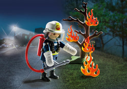 PLAYMOBIL Special PLUS Firefighter with Tree - 9093