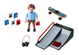 PLAYMOBIL Special PLUS Skateboarder with Ramp - 9094