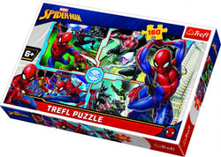 Spider-man To The Rescue 160 Piece Puzzle