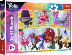 The Happy World Of Trolls 160 Piece Trolls Puzzle