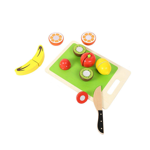 Wooden Cutting Fruits with Chopping Board