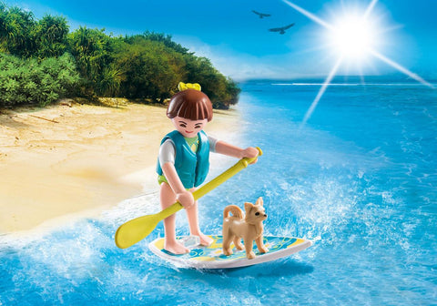 PLAYMOBIL Special PLUS City Paddleboarder - 9354