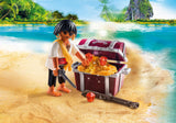 PLAYMOBIL Special PLUS Pirate with Treasure Chest - 9358