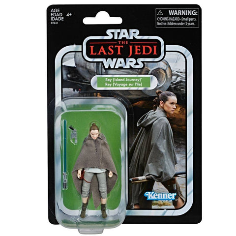 Star Wars Vintage Collection Rey Island Journey